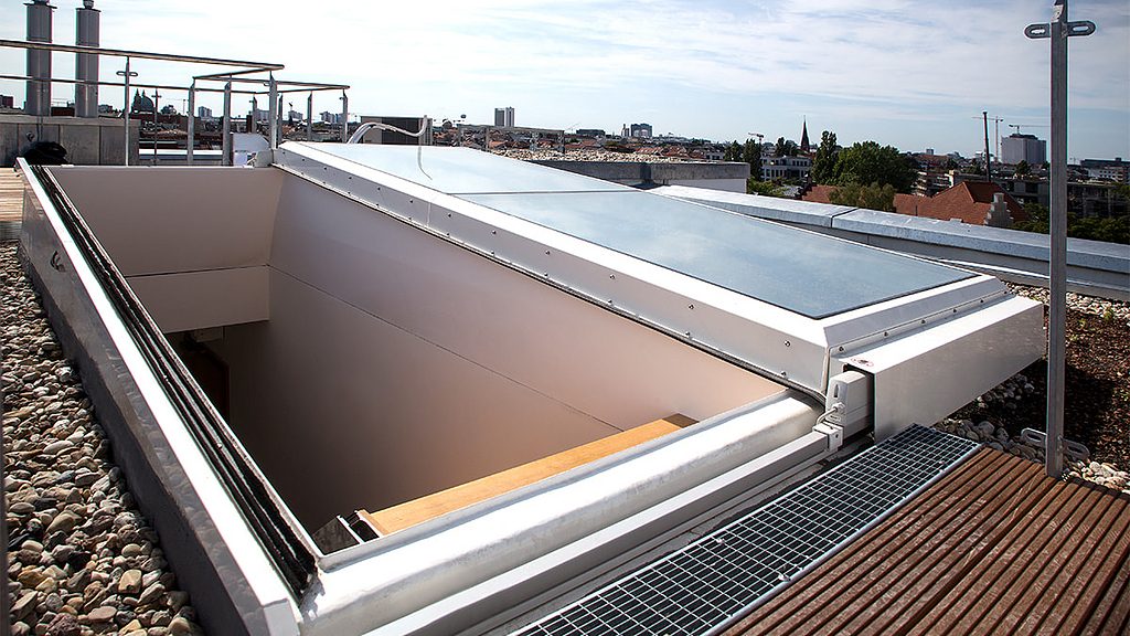 Flat Roof Exit Comfort Solo
