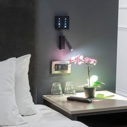 Control de iluminación en Hoteles Z / Lutron