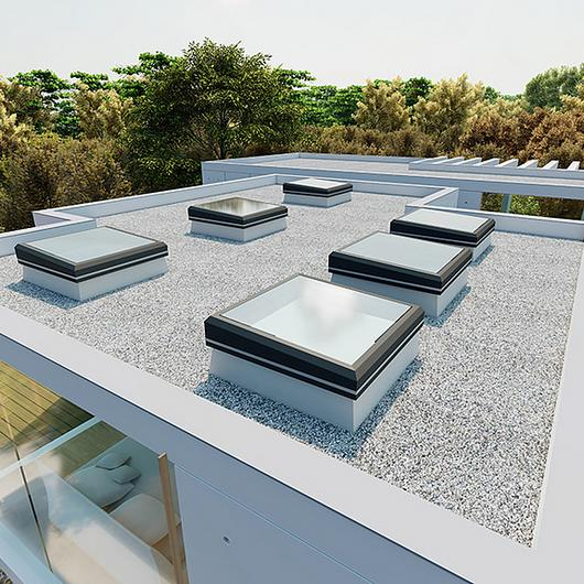 Glass Skylight FE 3°