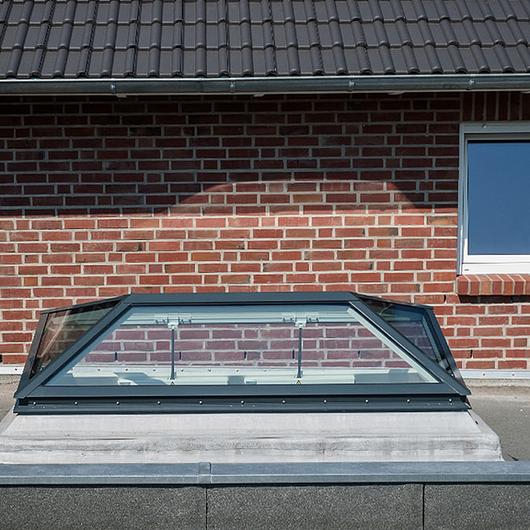 Glass Skylight FE Pyramid/Hipped