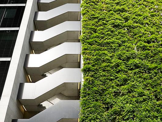 Jakob Green Facades - Stücki shopping center, Basel - Diener & Diener