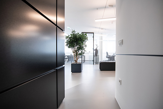 Qbiss One Partition Wall in Trimo Office