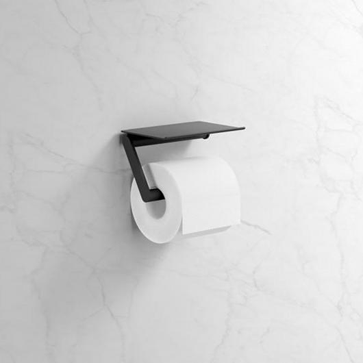 Toilet Roll Holder - With Shelf / HEWI