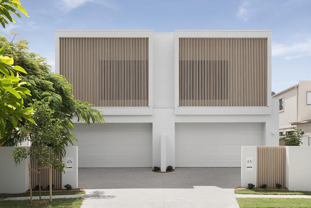 DecoBatten on Coastal Duplex Design