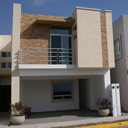 Piedra residencial - Risco Marrón / Metaldesign