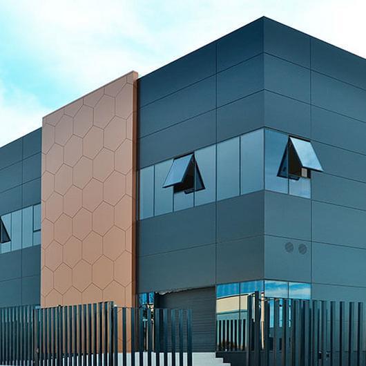 Fachadas ventiladas - Strugal Panel Composite / Strugal