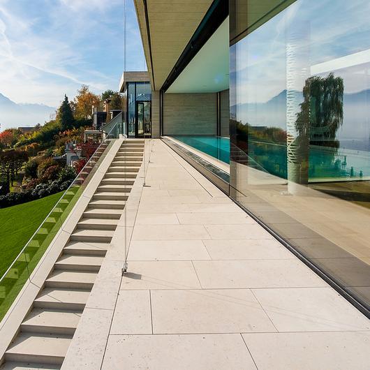 Exterior Paving Flooring Panels - Dietfurt Limestone Gala