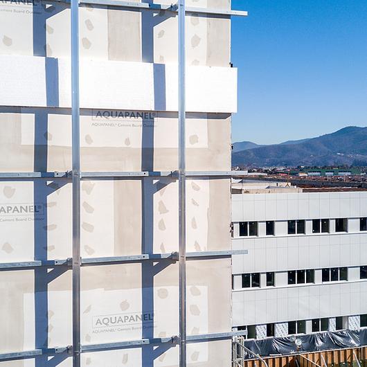 Placa de cemento para fachadas - AQUAPANEL® Outdoor