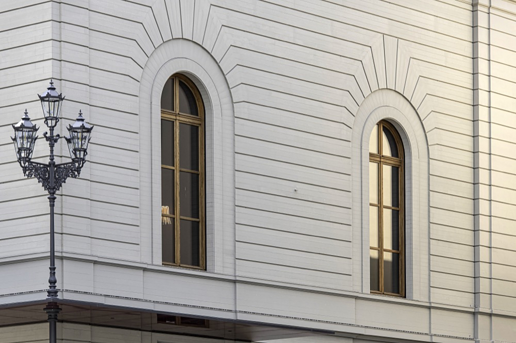Timber Cladding on Stadtcasino Basel Extension