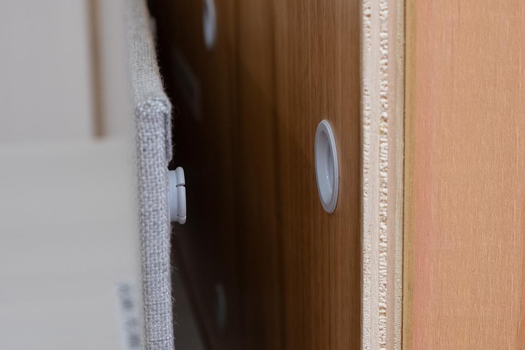 Sujetador de panel - Muy bajo perfil