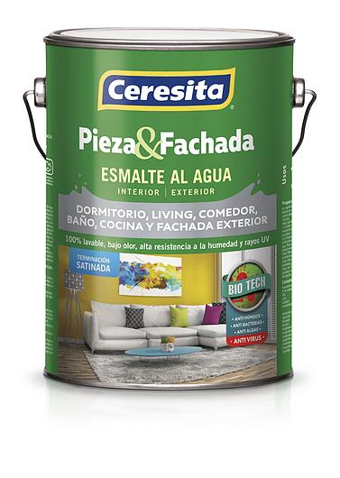 Esmalte al agua Pieza & Fachada | Satinada