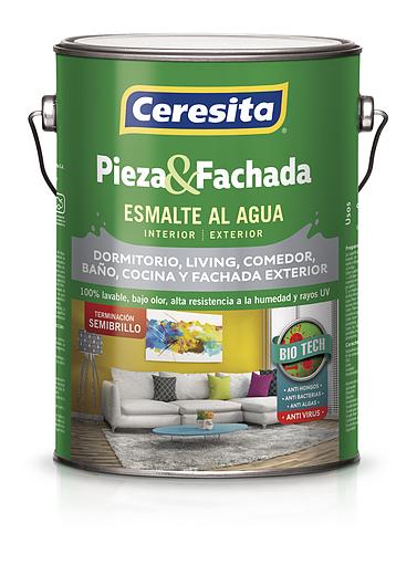Esmalte al agua Pieza & Fachada | Semibrillo