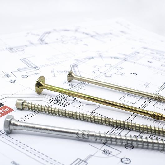 Fijaciones para estructuras de madera y metal / Simpson Strong Tie