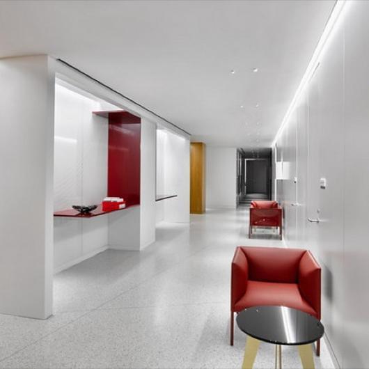 Furnishing Paul Hastings Offices / B&B Italia