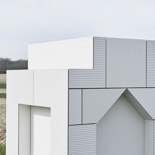 Fiber Cement Facade Panel Linea