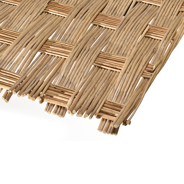 Handwoven Panel - Peeled Willow