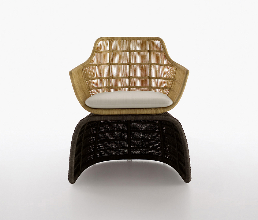 Armchair - Crinoline Shaped
