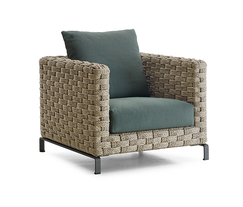 Outdoor Armchair - Ray Natural