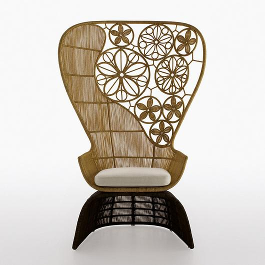 Armchair - Crinoline Art / B&B Italia