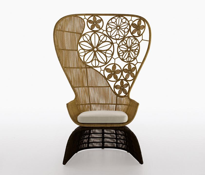 Armchair - Crinoline Art