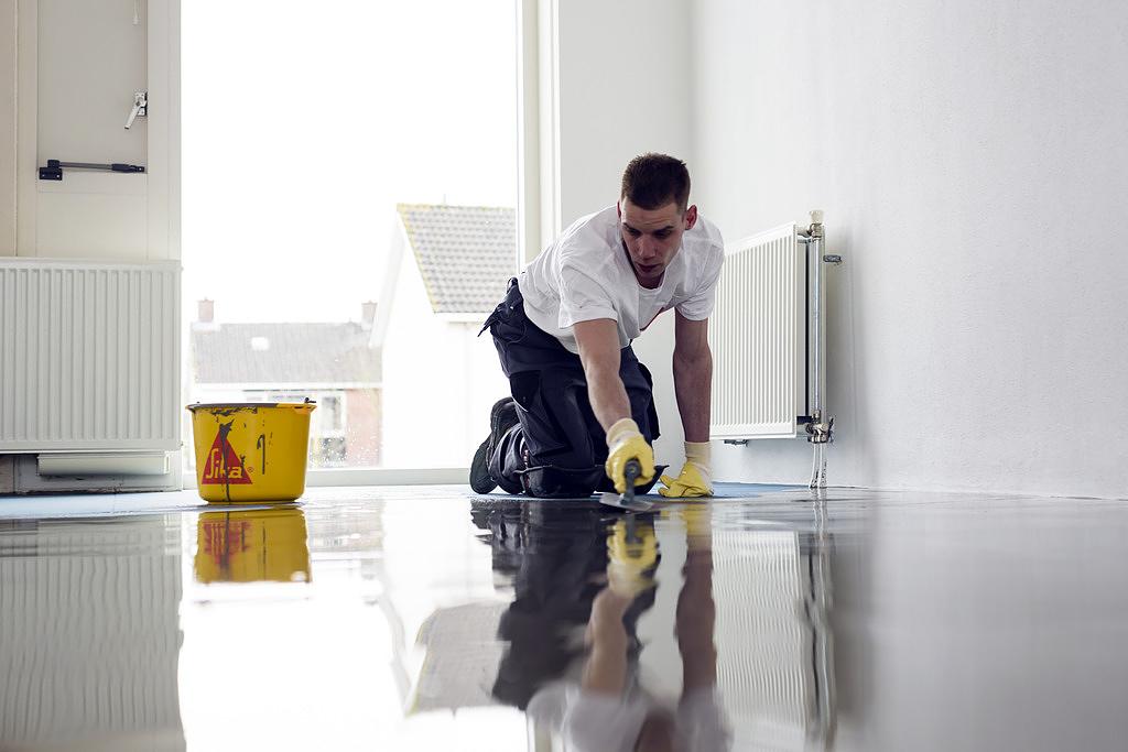 Contrapiso de cemento autonivelante - Sika® Level-325