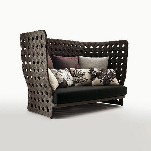 Sofa - Canasta Linear High Back / B&B Italia
