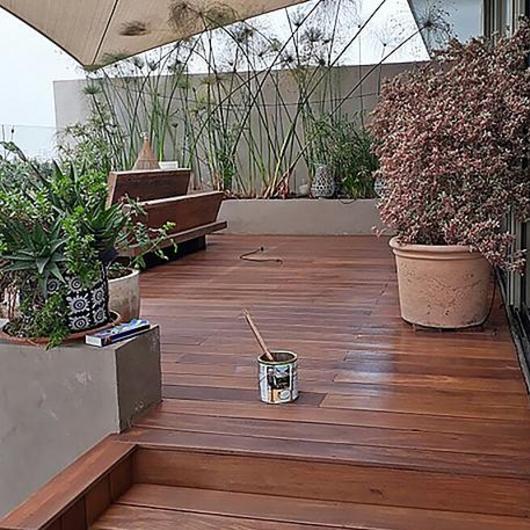 Revestimiento de madera termomodificada