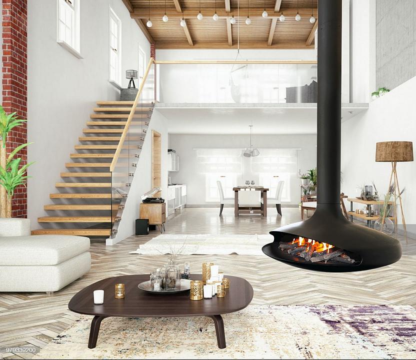 Fireplaces - Gyrofocus Gas from Focus
