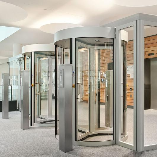 Security Revolving Doors - Geryon