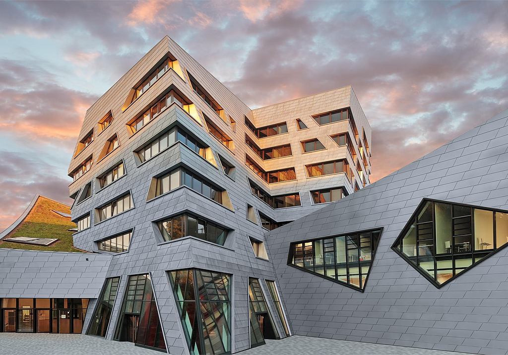 Zinc Cladding Facade Systems
