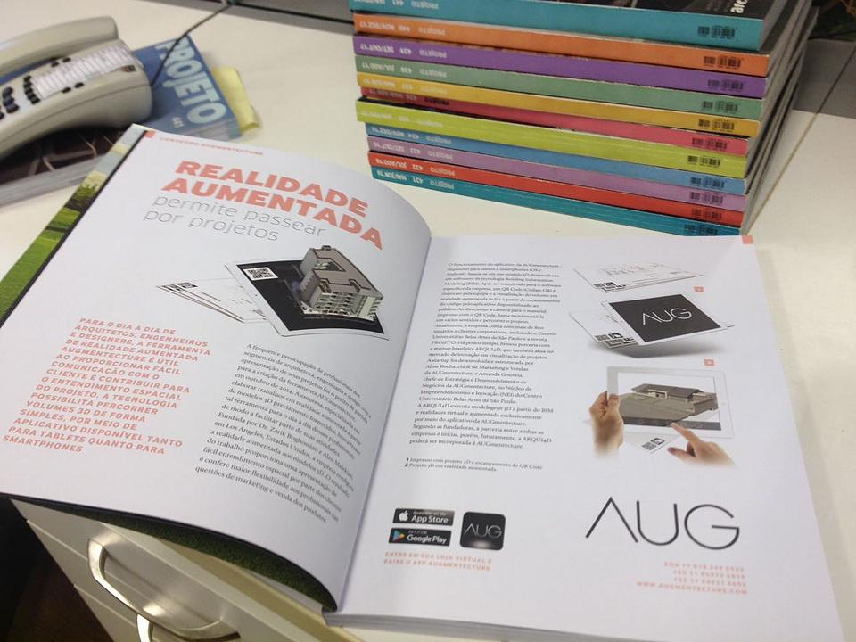 AUGmentecture in PROJETO Magazine