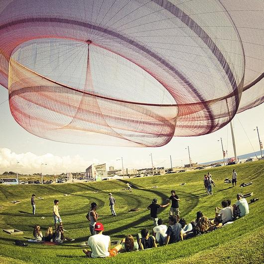 Tensile Architecture: Nets, ropes and tapes