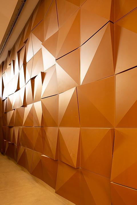 Revestimiento interior metálico - Piramid
