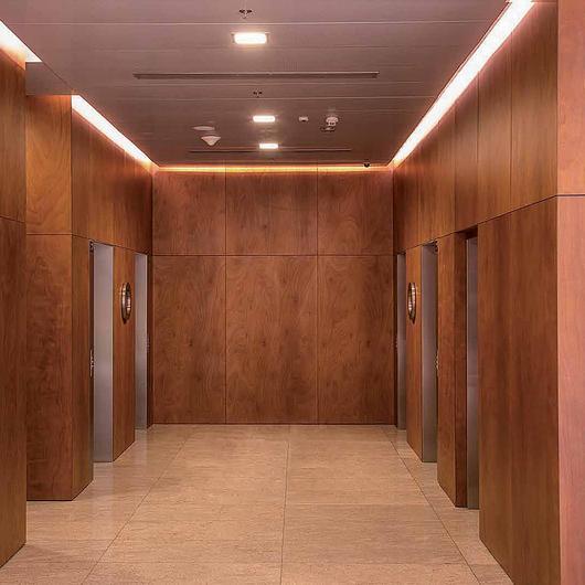 Revestimiento interior de madera - Prodema / Hunter Douglas