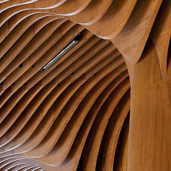 Revestimiento interior de bambú - Tableros Macizos de Bambú Moso