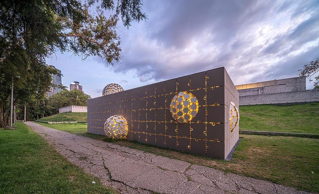 Panel de fibrocemento Equitone en  Design Week México 2020