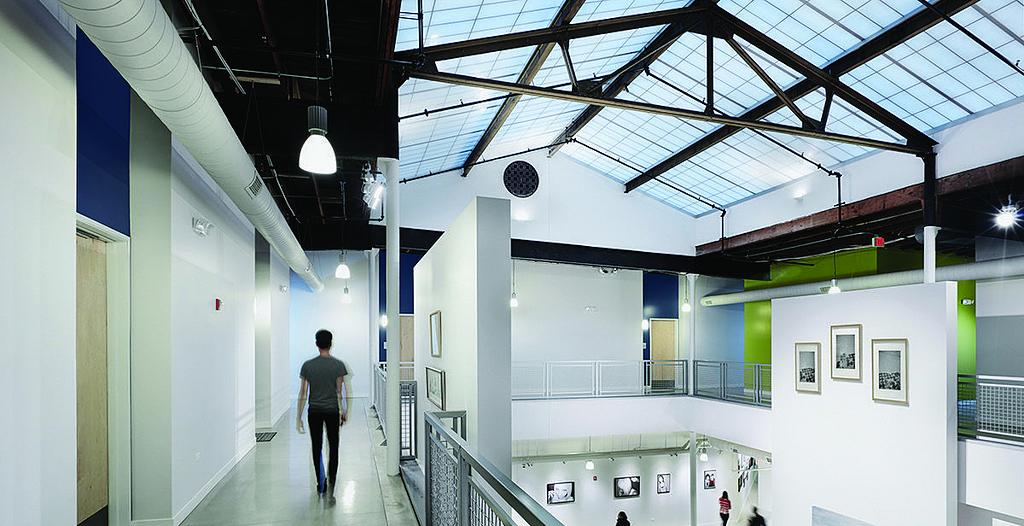 Kalwall® in Elgin Artspace Lofts