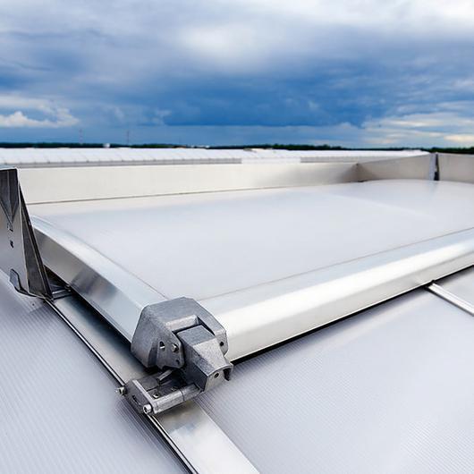 Continuous Rooflight B Passivhaus