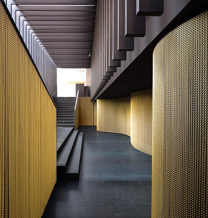 Metal Fabric – Decorative Interior Walls