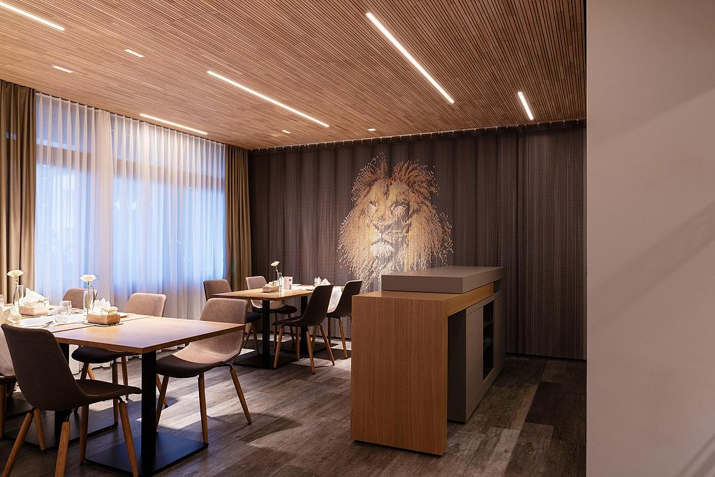 Gallery Of Metal Fabric Decorative Interior Walls 5
