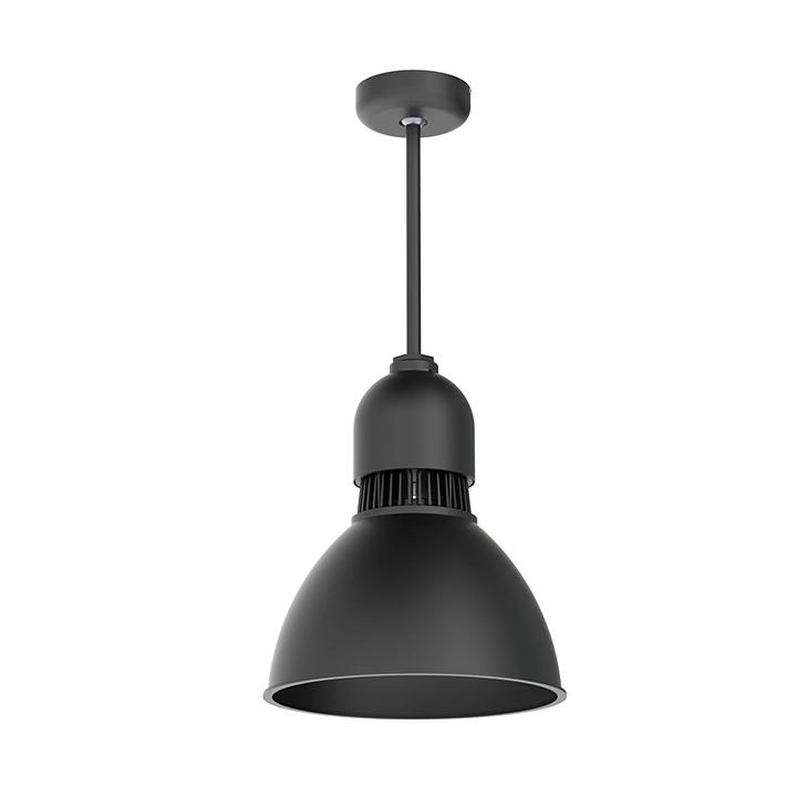 "Pendant Lights - 12"" Aluminum & Prismatic DDS Series"