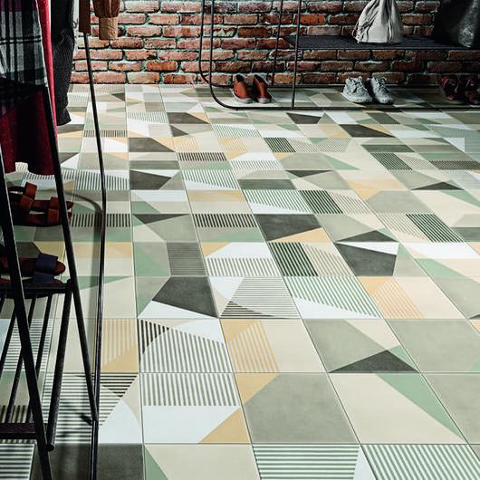 Porcelain Tiles - Icon Boheme / Grespania