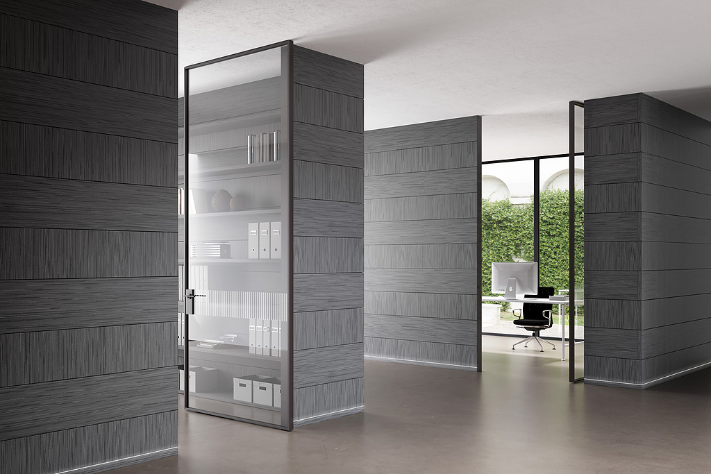 Linea Vertical Pivot Door