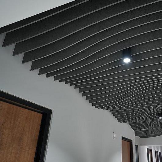 Painéis acústicos de feltro FELTWORKS™ Blades