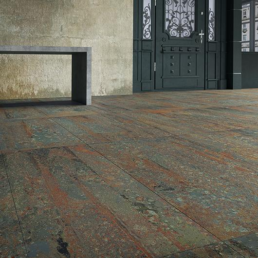 Porcelain Tiles - Rust