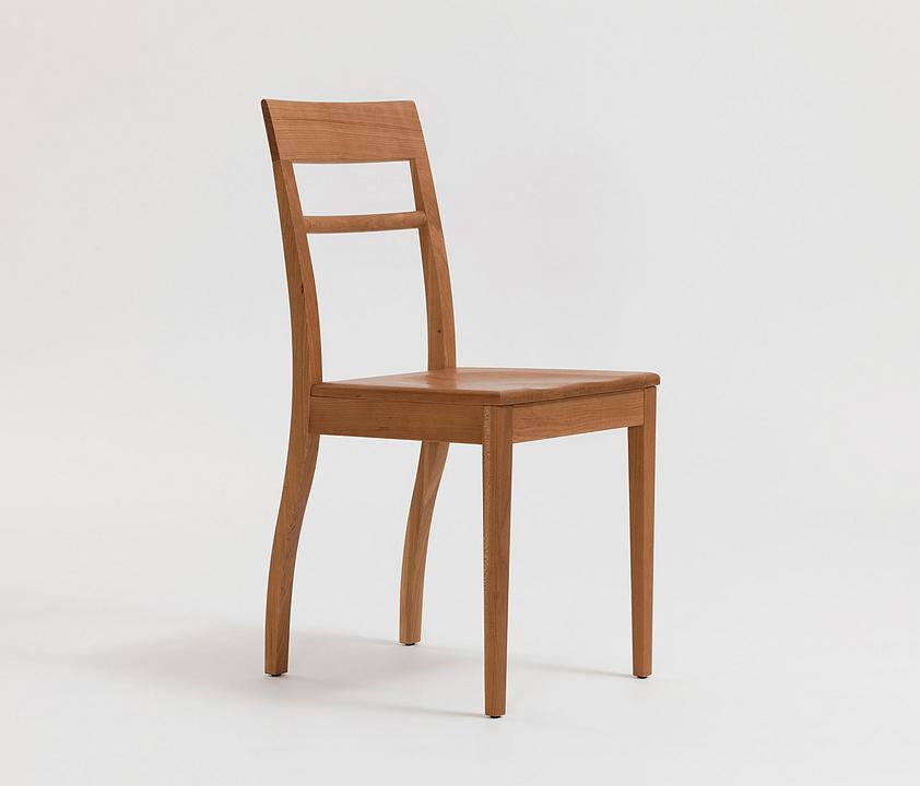 Wooden Chair - Blue Chair