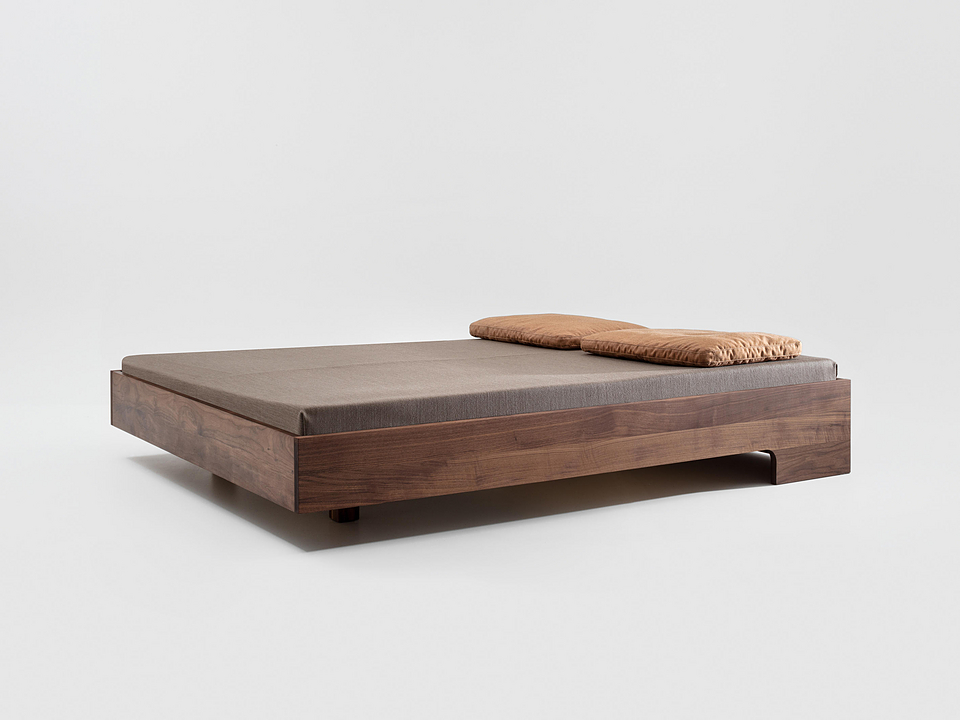 Wooden Bed - Snooze