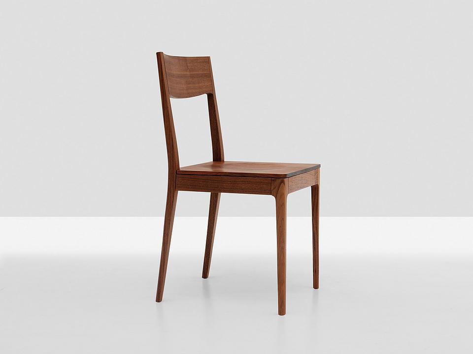 Wooden Chair - Calu