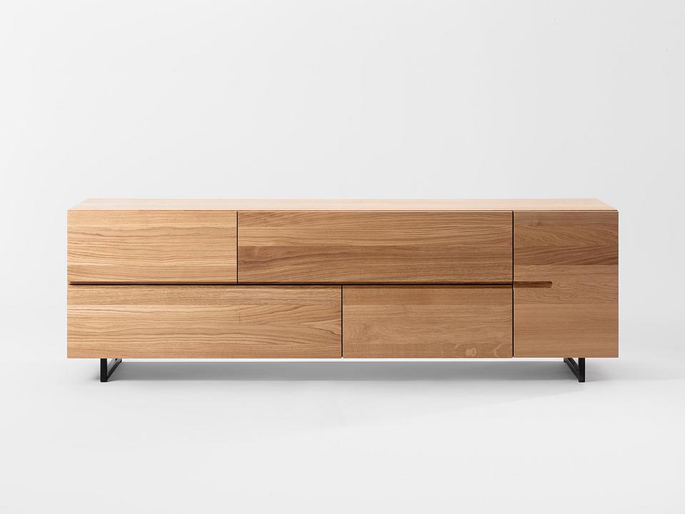 Wooden Sideboard - Low