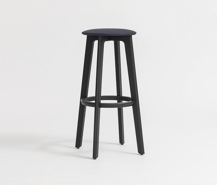Wooden Barstool - 1.3 Bar